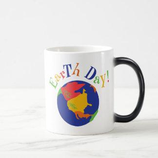 Colorful Earth Day Gift Coffee Mugs