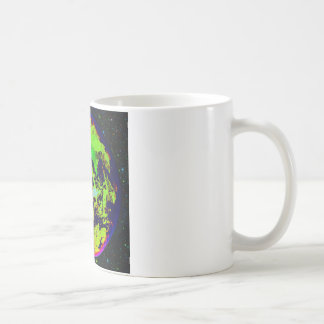 Colorful Earth From Space. Coffee Mug