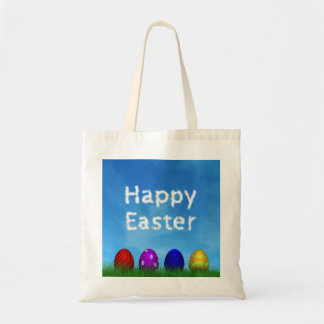 Colorful Easter Eggs - Budget Tote