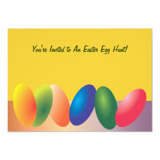 Colorful Easter Eggs Invitation