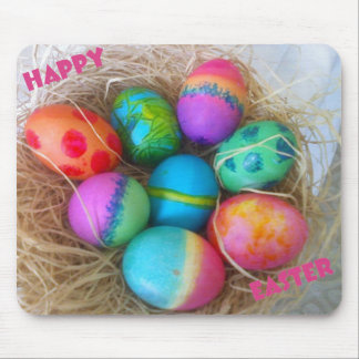 Colorful Easter Eggs Mouse Mat