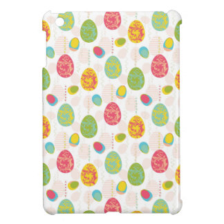 Colorful Easter Eggs Pattern iPad Mini Case