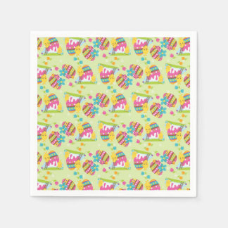 Colorful Easter Paper Serviettes