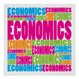 Colorful Economics Poster