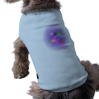 Colorful Eggs in a Basket Sleeveless Dog Shirt
