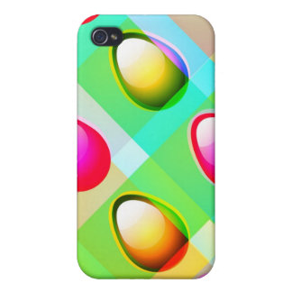 Colorful Eggs iPhone 4/4S Cover