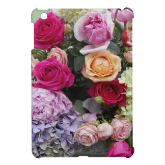 Colorful Elegant Bouquet of Flowers Roses iPad Mini Case