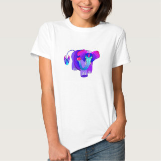 Colorful Elephant: Cute T Shirt