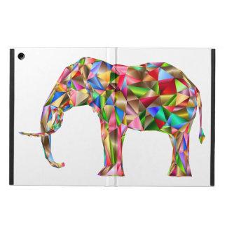 Colorful elephant iPad air cover