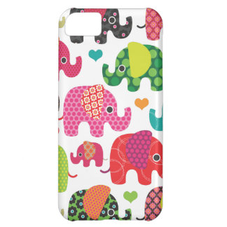 Colorful elephant kids pattern iphone case iPhone iPhone 5C Cases