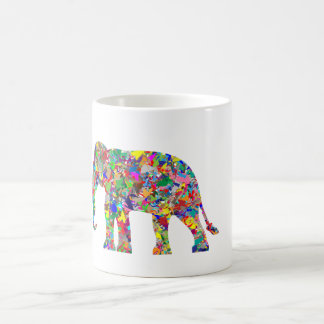 Colorful Elephant Mug