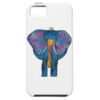 Colorful Elephant with Friend Case For The iPhone 5