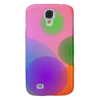 Colorful Ellipses Galaxy S4 Covers