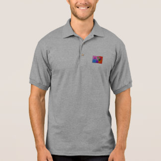 Colorful Ellipses Polo Shirt