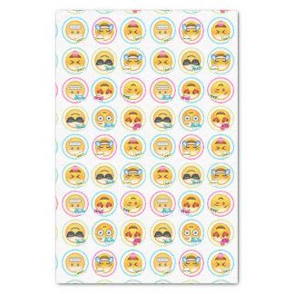 Colorful Emoji Tissue Paper