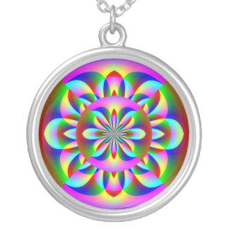 Colorful Energetic Mandala Necklace