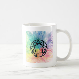 Colorful Enneagram Coffee Mug