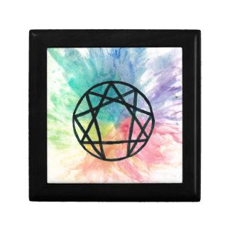 Colorful Enneagram Gift Box