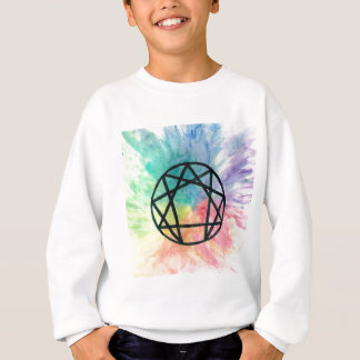 Colorful Enneagram Sweatshirt