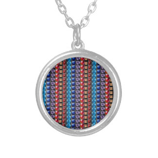 COLORFUL Exotic Jewel Crystal Stone Pattern GIFTS Personalized Necklace