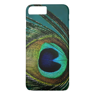 Colorful Exotic Peacock Feather Photo Phone Case