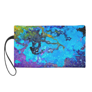 Colorful Expressions Wristlet Clutch