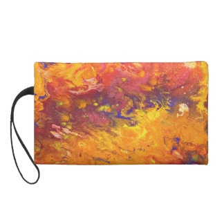 Colorful Expressions Wristlet Purse