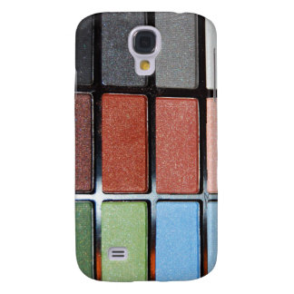 Colorful Eyeshadow Makeup Palette Samsung Galaxy S4 Covers