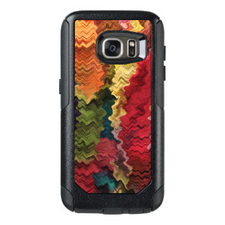Colorful Fabric Abstract OtterBox Galaxy S7 Case