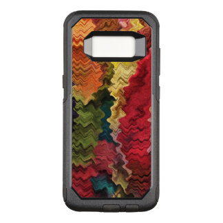 Colorful Fabric Abstract OtterBox Galaxy S8 Case