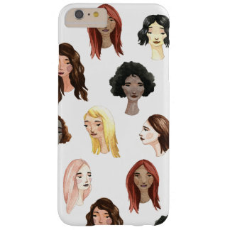 Colorful Faces Barely There iPhone 6 Plus Case