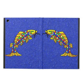 Colorful Fancy Abstract Fish Cover For iPad Air