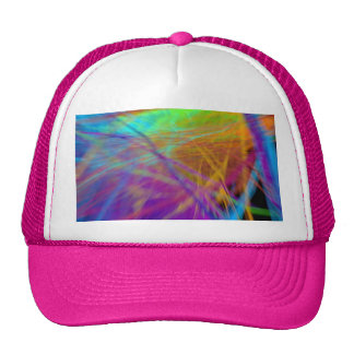 Colorful Feather Cap