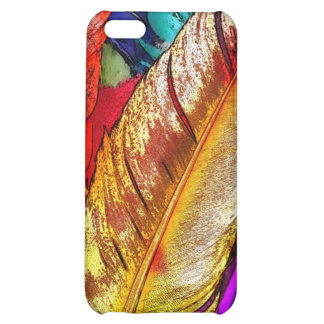 COLORFUL FEATHERS COVER FOR iPhone 5C