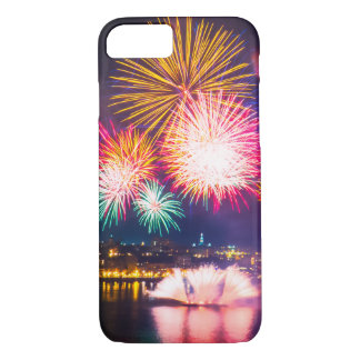 Colorful Fireworks iPhone 8/7 Case