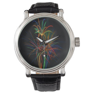 Colorful fireworks watches