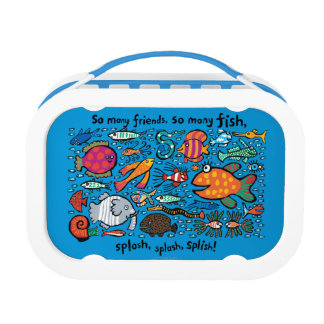 Colorful Fish Friends Lunch Box