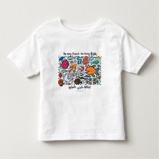 Colorful Fish Friends Toddler T-Shirt