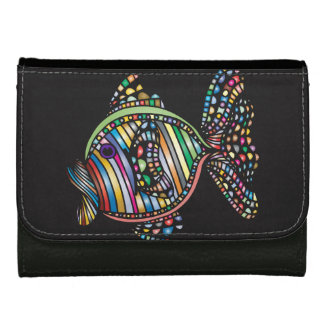 Colorful Fish Leather Wallet