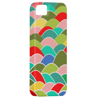 Colorful Fish Scale Pattern Barely There iPhone 5 Case