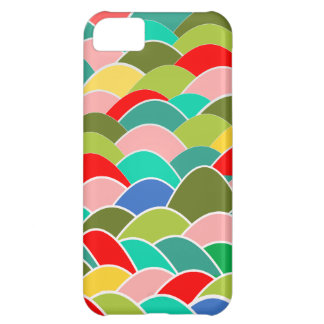 Colorful Fish Scale Pattern iPhone 5C Case