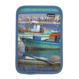 Colorful fishing boats in the Harbor of iPad Mini Sleeve