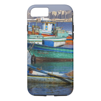 Colorful fishing boats in the Harbor of iPhone 8/7 Case