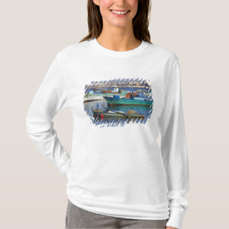 Colorful fishing boats in the Harbor of T-Shirt