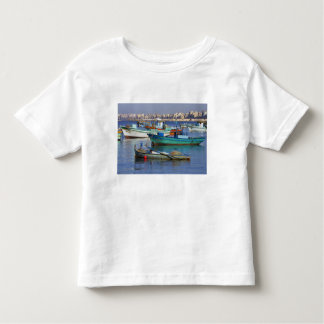 Colorful fishing boats in the Harbor of Toddler T-Shirt