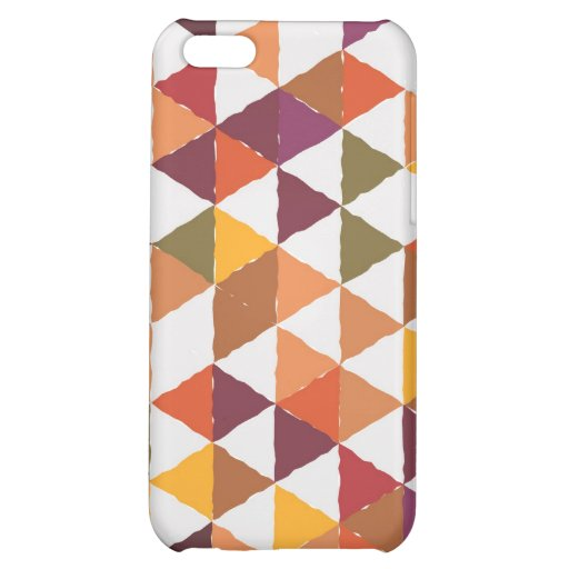 colorful flag on speckcase iPhone 5C case