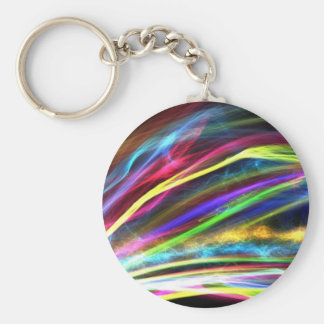 Colorful flames keychain