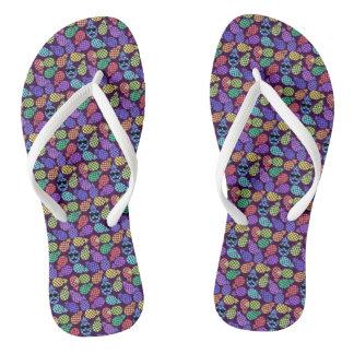 Colorful Flip Flops. Flip Flops
