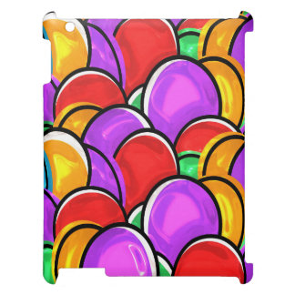Colorful  Floating Balloons iPad Cover