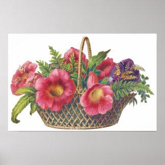 Colorful Floral Arrangement Poster